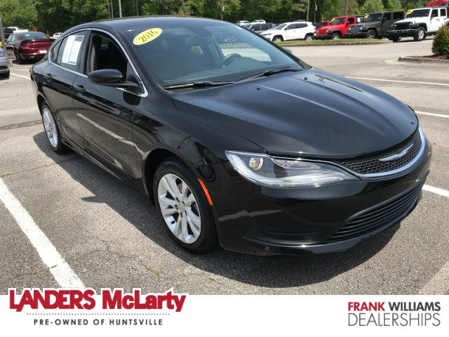 used 2016 Chrysler 200 car, priced at $17,999