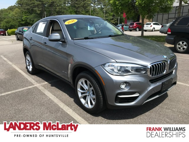 used 2016 BMW X6 car, priced at $39,990