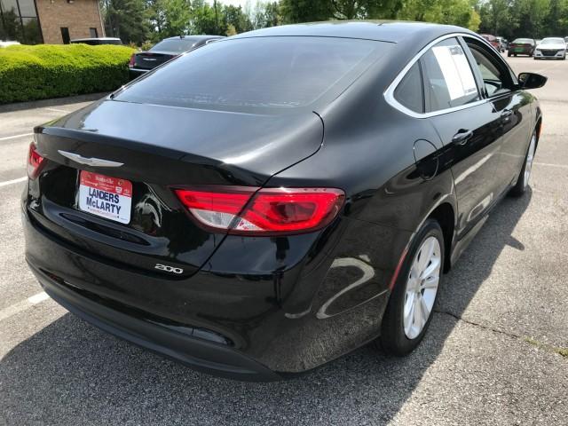 used 2016 Chrysler 200 car, priced at $17,784