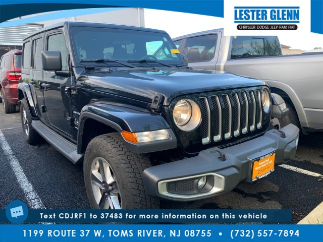 used 2018 Jeep Wrangler Unlimited car, priced at $44,937